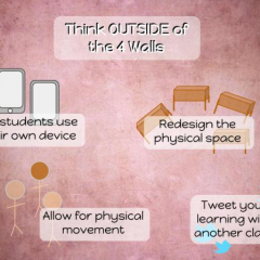 Think Outside the 4 Walls of Your Classroom