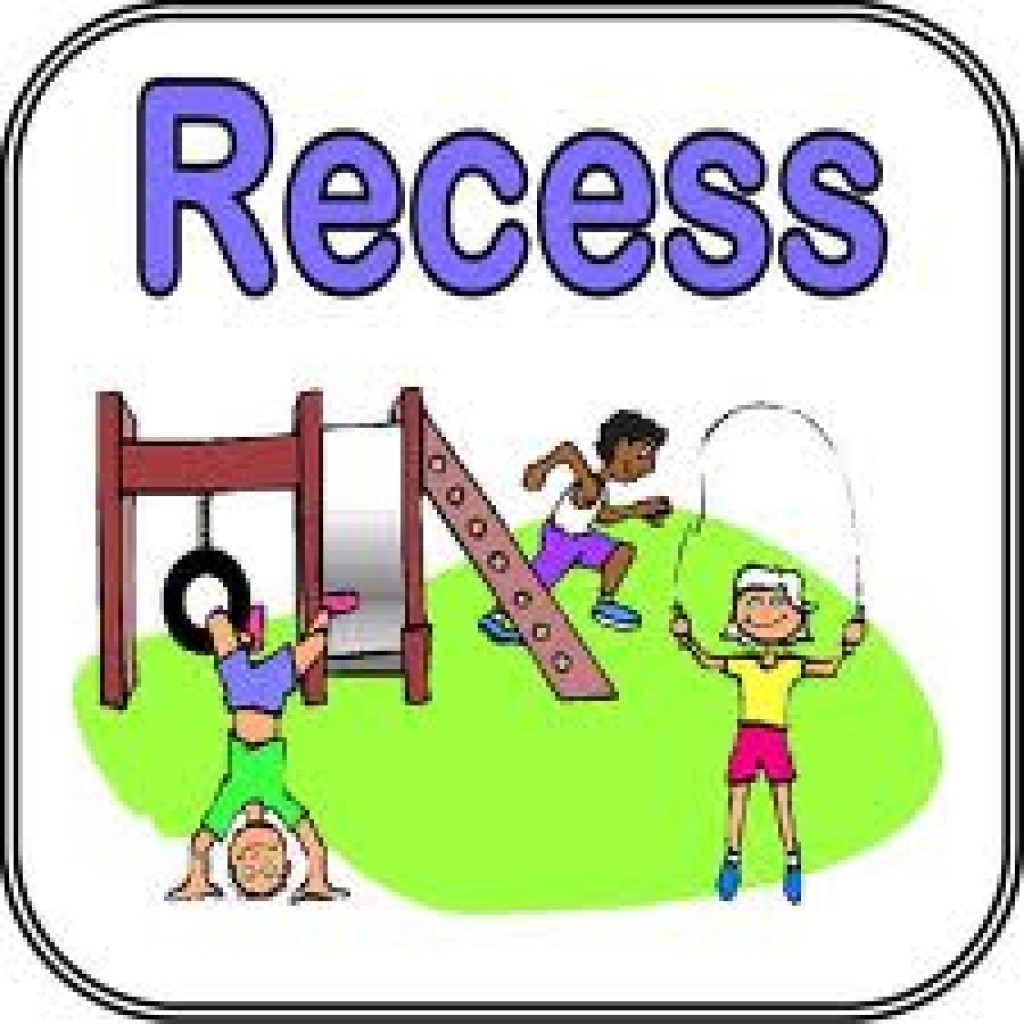 Kids Playing At Recess Clipart Recess